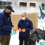 Avión de Helidosa llega de China con suministros contra coronavirus