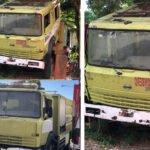 Camiones de bomberos de Boca Chica inservibles