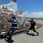 Aeropuerto Las Américas José Francisco Peña Gómez moviliza en un mes más de 15. millones de libras de carga